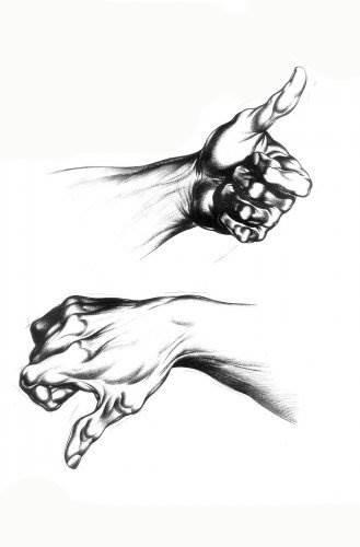Учимся рисовать руки
