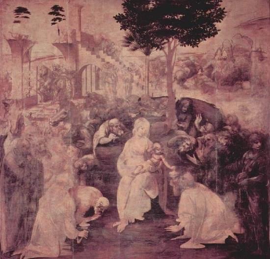 Художники эпохи возрождения леонардо