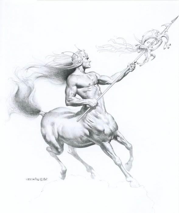Борис Вальехо картины