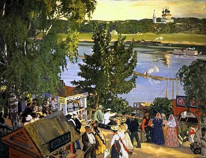 Кустодиев картины