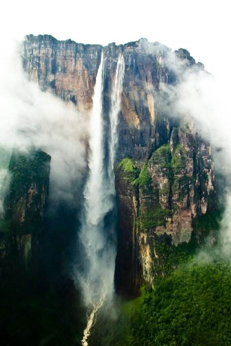 водопады фото