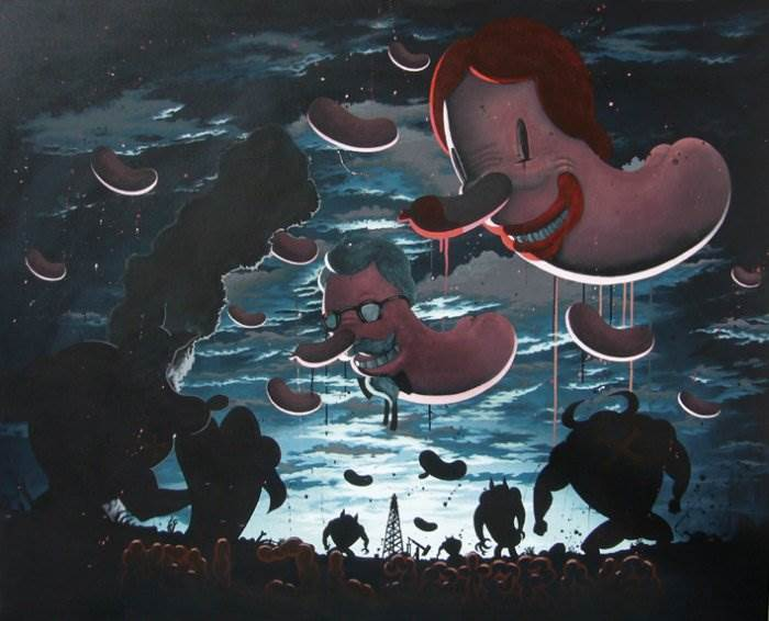 Чили художник Victor Castillo