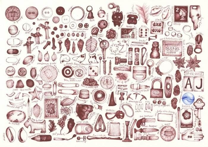 Картинки нарисованные карандашом в тетради 3