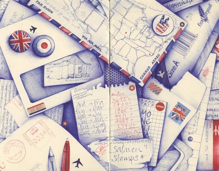 Картинки нарисованные карандашом в тетради 4