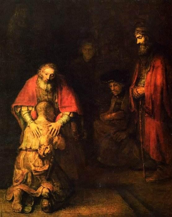 Картина Возвращение блудного сына