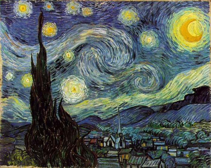 Звёздная ночь Ван Гог