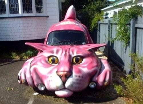 креативные автомобили