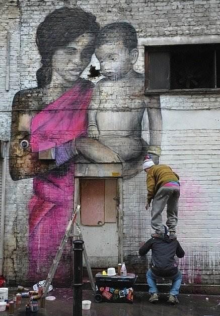 художник граффитчик