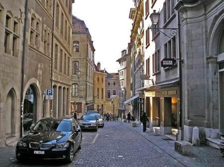 прокат авто в Женеве