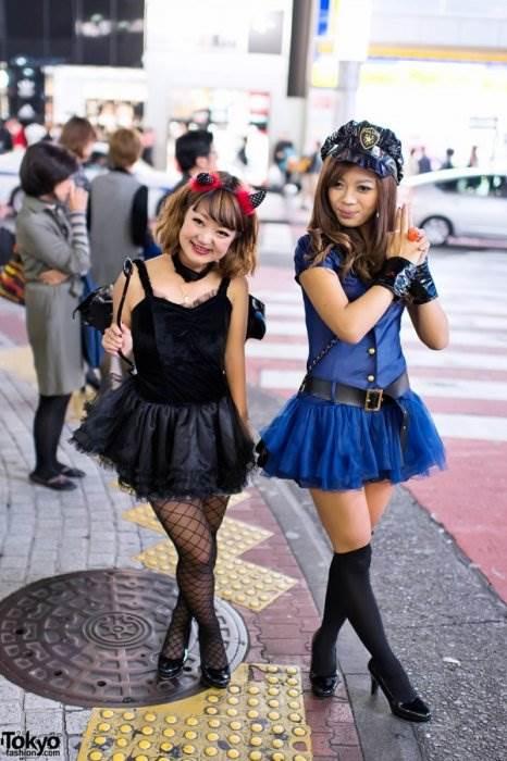 Хэллоуин Япония