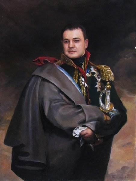 Портреты художника