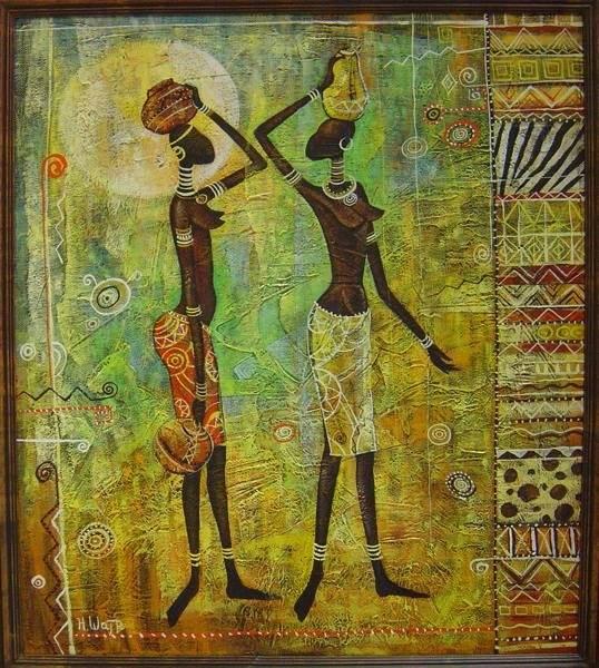 Африканская живопись