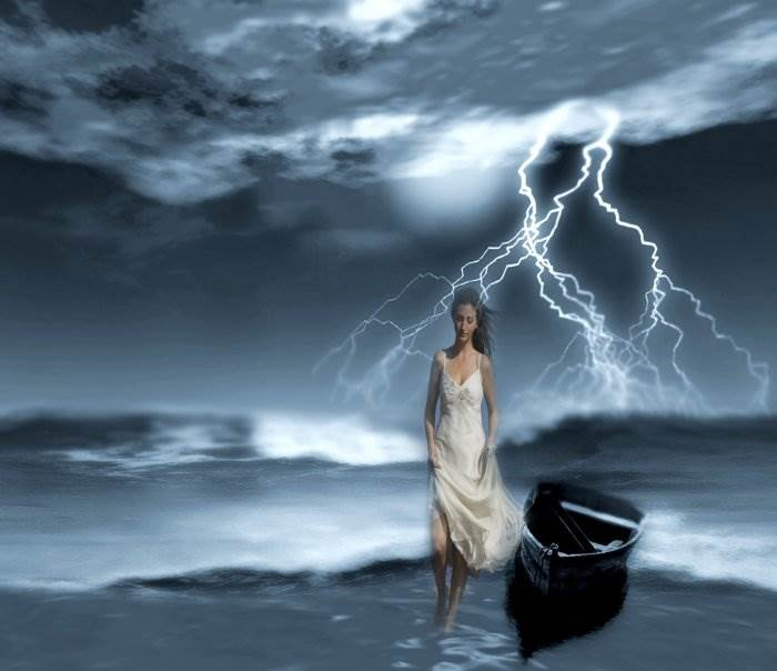 Поздняя любовь, шторм