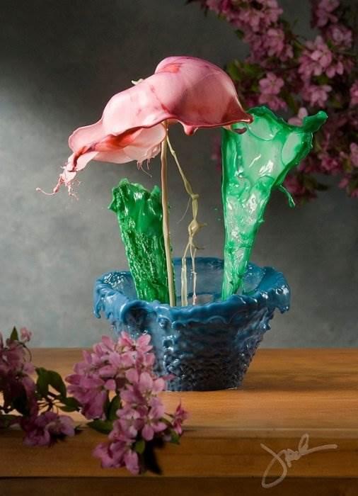 Жидкие цветы