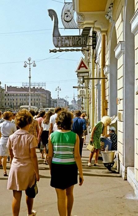 СССР цветные фото