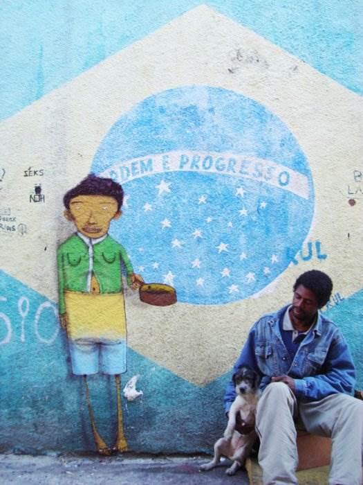Бразильское граффити