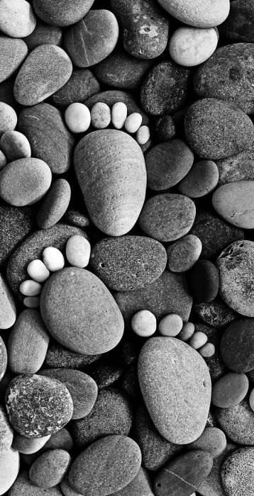 Инсталляции из камней