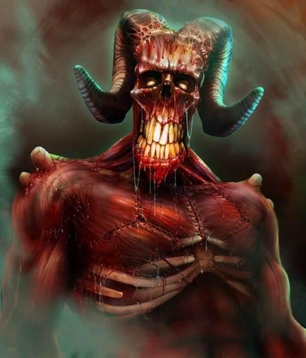 Dave Oliver демоническое фэнтези