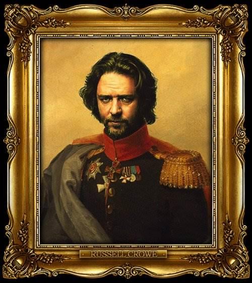 Звёзды в роли русских генералов