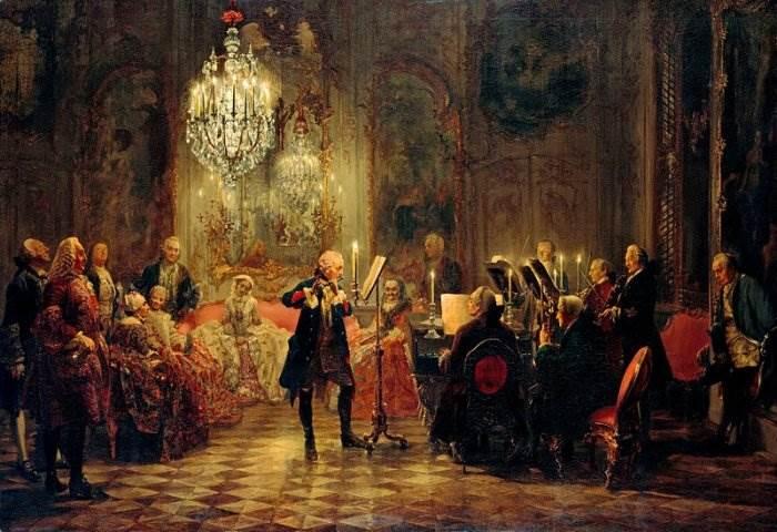 Адольф фон Менцель картины
