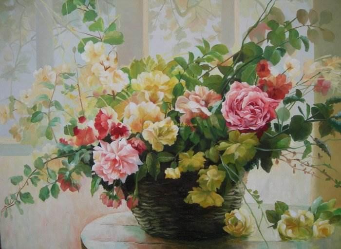 Картины цветов добавят в ваш дом уют и спокойствие