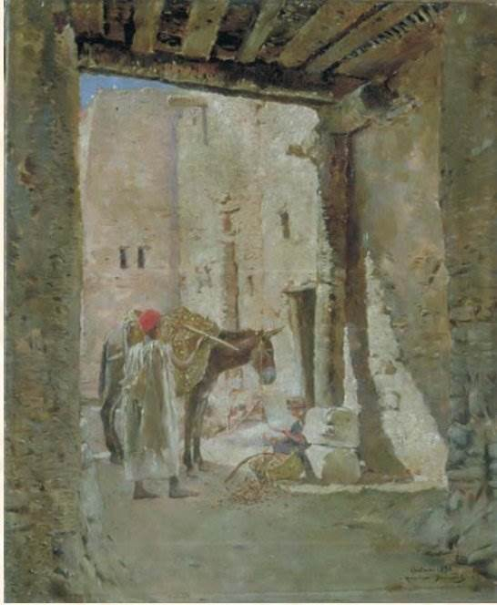 французский художник-ориенталист