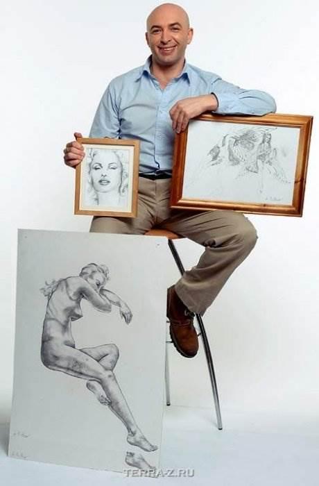 Ли Хадвин художник-лунатик