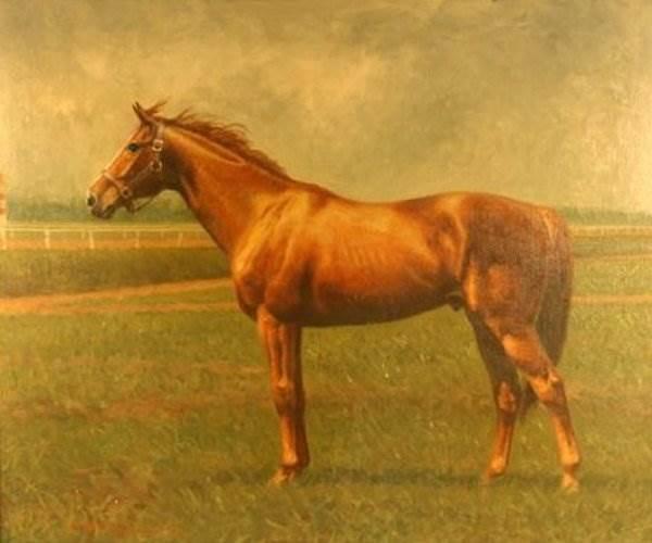 Лошади художника