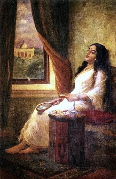 известный индийский художник