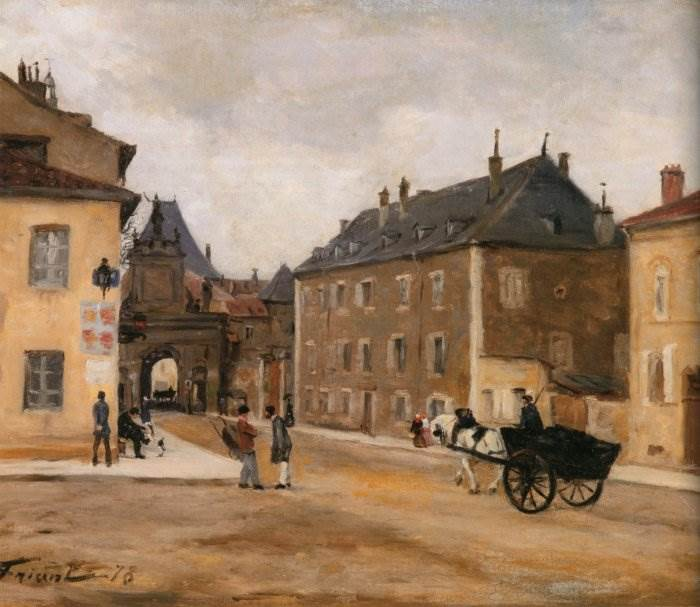 французский художник-реалист