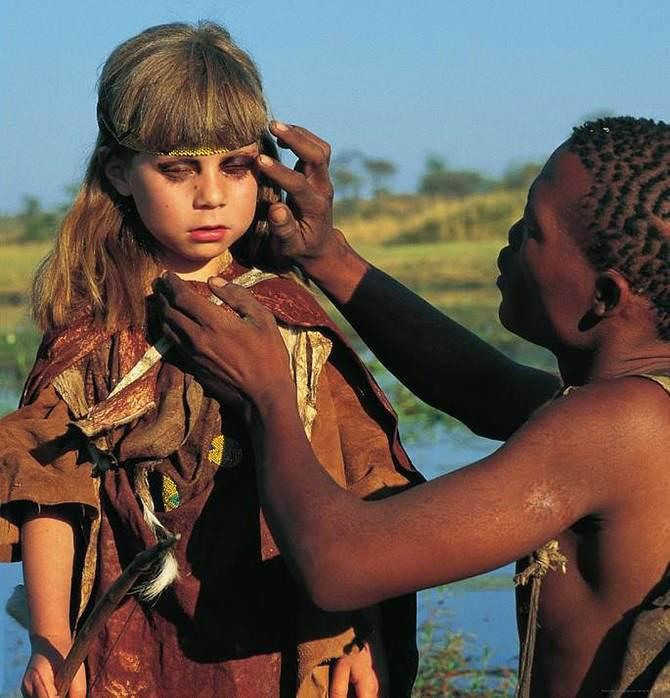 Типпи Дегре (19 фото). Девочка-Маугли