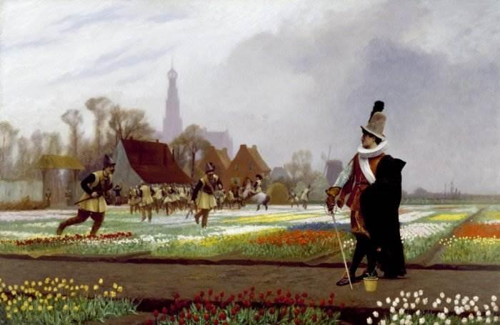 Жан-Леон Жером Тюльпановое безумие