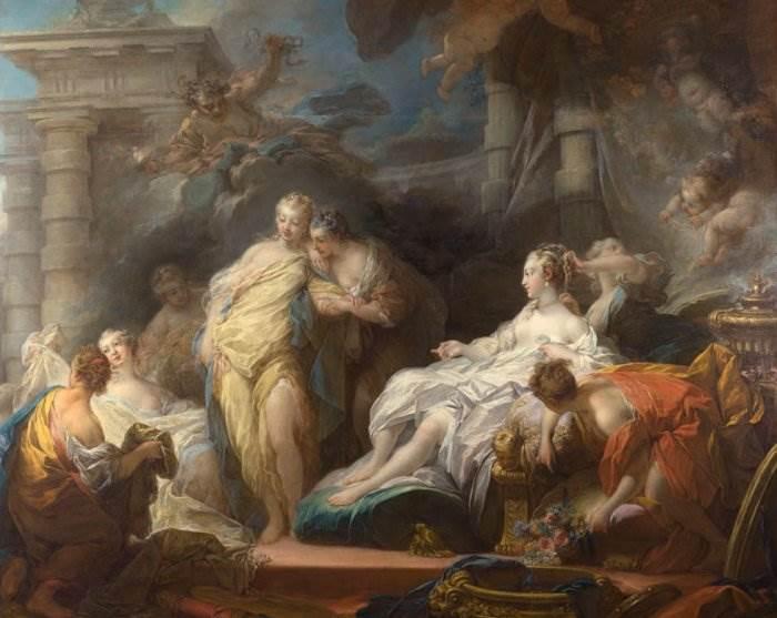 французский художник эпохи рококо
