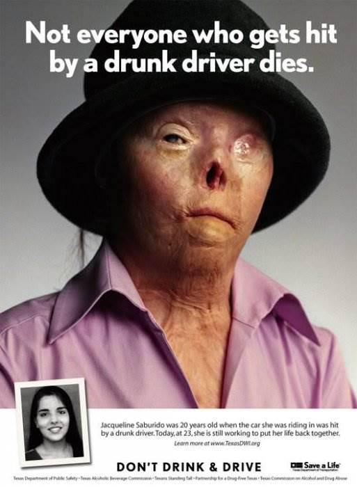 Социальная реклама Не пейте за рулем