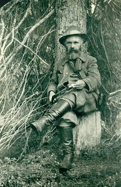 Русский писатель Пришвин