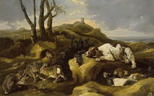 Фламандский художник