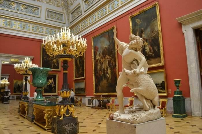 Искусство 17 18 века эрмитаж