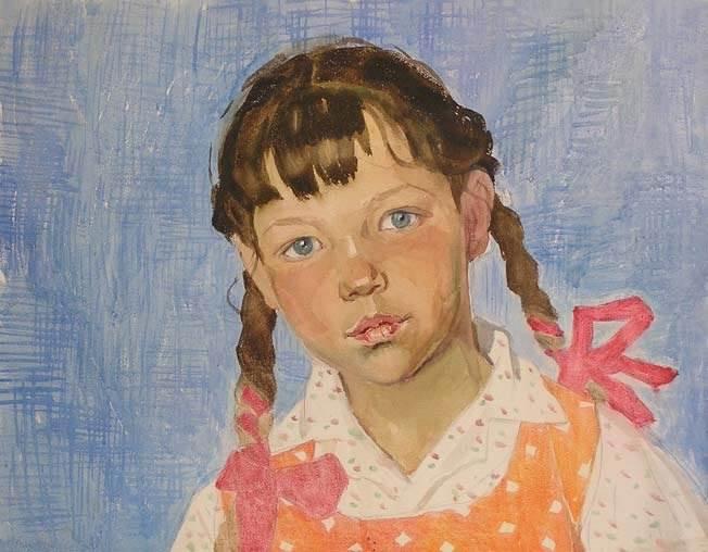 русская художница