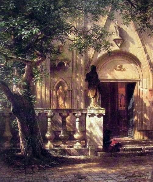 американский художник 19 века