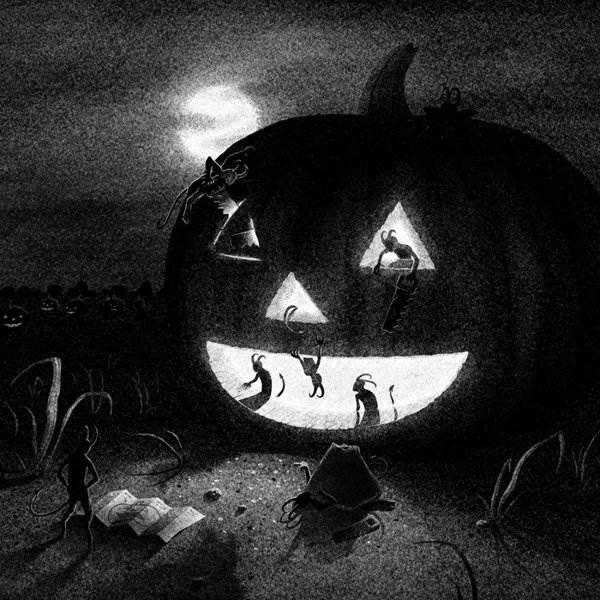Хэллоуин художника Brian Luong «Drawlloween 2013»