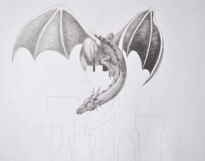научиться рисовать дракона