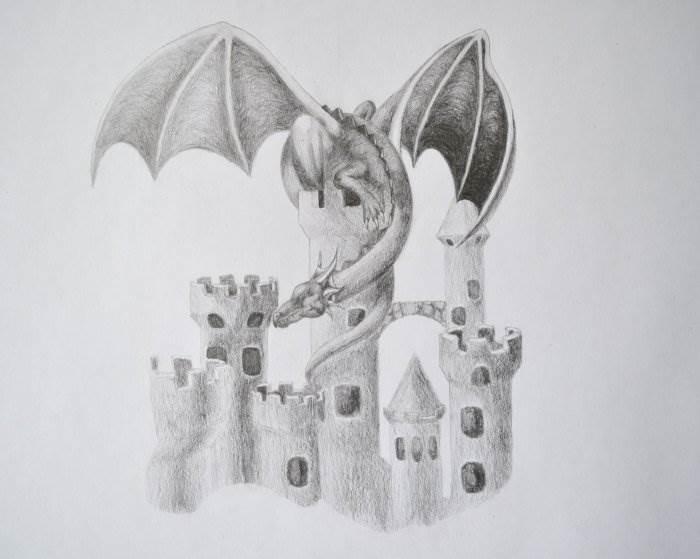 нарисовать дракона