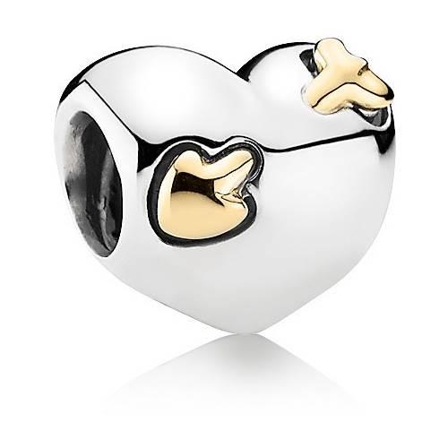 Подвеска-шарм Сердце со стрелой Pandora