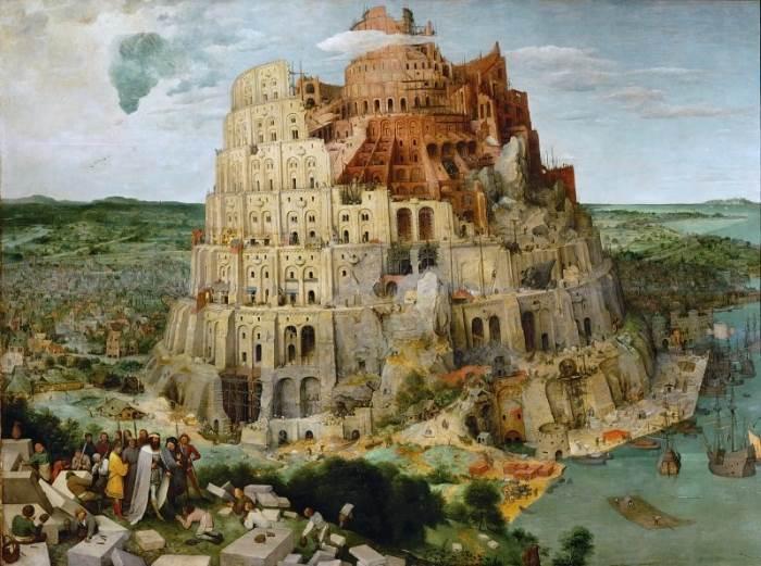 Питер Брейгель Старший картина Вавилонская башня