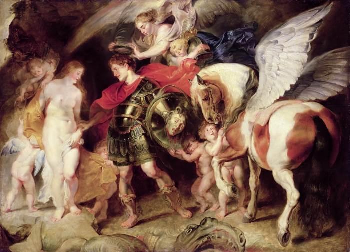 Персей и Андромеда картина Рубенса