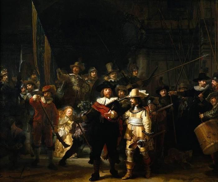 Ночной дозор Рембрандт