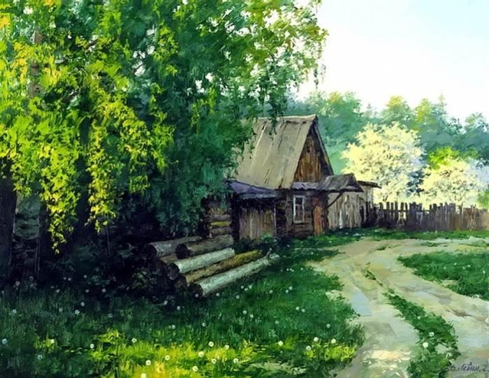 Картинки великих художников о весне