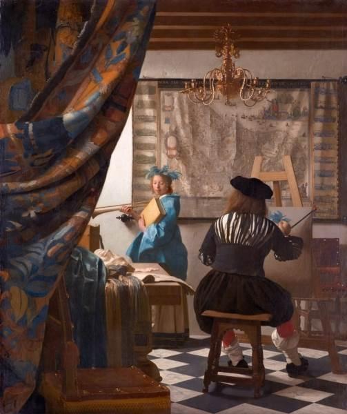Аллегория живописи Ян Вермеер Дельфтский