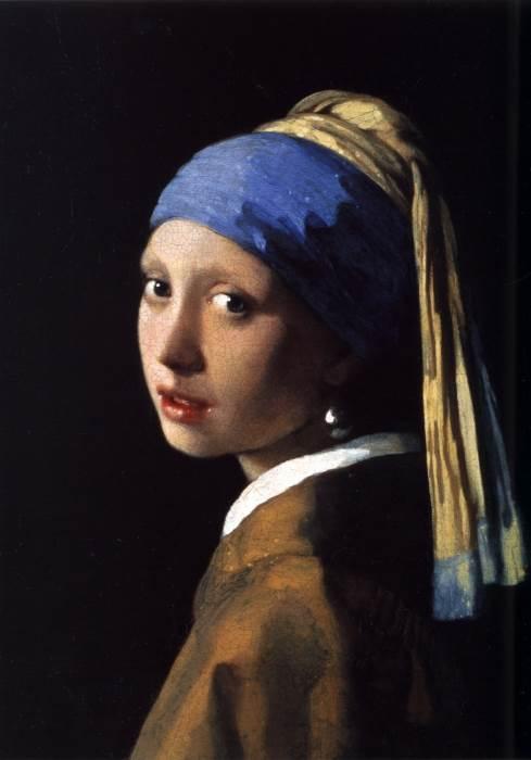 Девушка с жемчужной сережкой Ян Вермеер