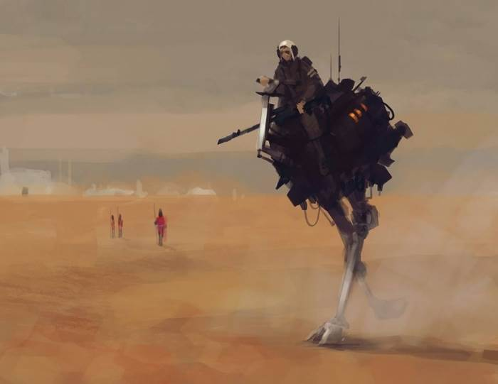 Потрясающая и необычная фантастика художника Якуба Розальски (Jakub Rozalski)